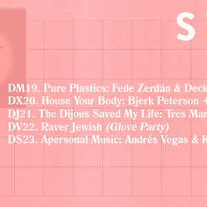 "Fede Zerdan & Deckard ""Pure Plastics""@ Switch Pocket Club 19 April'16"
