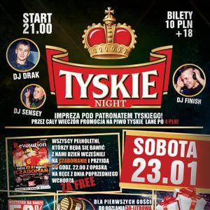 Dj Drak - Club Revolution Sanok - Tyskie Night (23.01.2016).