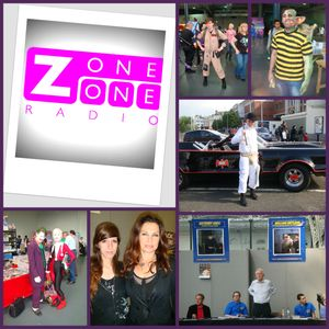ZoneOneRadio - Jane Badler Interview And Picnic @ London Comic Con - Commander Fenice Speaking