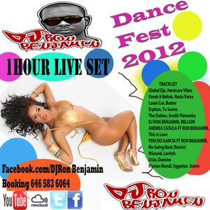 "Dj Ron Benjamin ""Live from Dance Fest 2012 """
