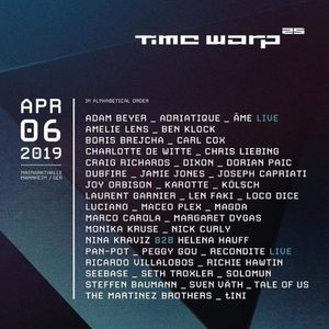 Nina Kraviz B2B Helena Hauff - Live @ Time Warp 2019 [04.19]