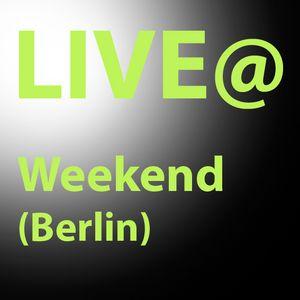 DJ MK1 Live @ Weekend
