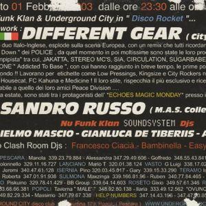Justin Drake d.j. Underground City (Pe) Italy 01 febbraio 2003