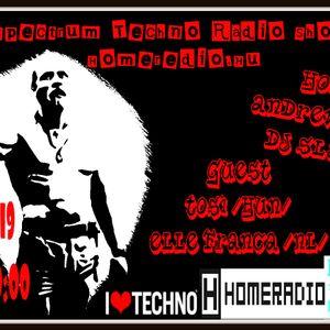 Elle Franca [NL] Spectrum Techno Radio Show # 09 Pt 3