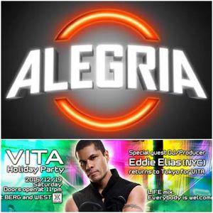 Eddie Elias Live @Alegria