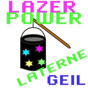 LAZER POWER LATERNE GEIL