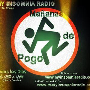 Mañanas de Pogo - Entrevista Sergio Vivar