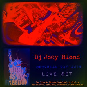 Dj Joey Blond - Music is My Freedom (LIVE Memorial Day 2016)