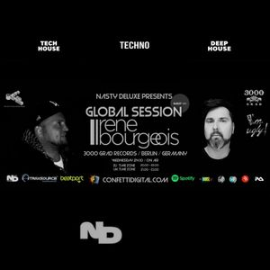 Global Session - Nasty deluxe, Rene Bourgeois - Confetti Digital London