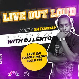 DJ LENTO - Hop Hop Mix 8TH July LIVE OUT LOUD