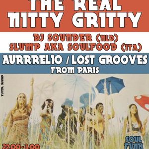 The real nitty gritty dj-set @ MC Theater, Amsterdam (Slump aka Soulfood + dj Sounder + Aurrrelio)