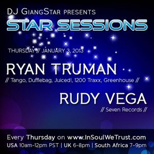 Ryan Truman Mix For Star Sessions Radio Show - Jan 3, 2013