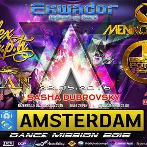 Klub Ekwador Manieczki - Amsterdam Dance Mission (Czerwona Sala) (28.05.2016) DJ.Insane vol.2