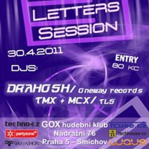 Tmx  vs. Mcx feat. Drahosh live@GOX Club Prague 30.4.2011