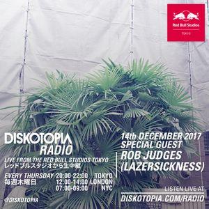Diskotopia Radio 14th December 2017 w/ Rob Judges