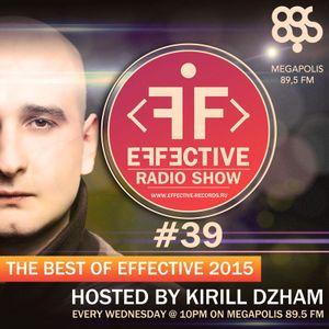 Effective Radio #39 (The Best Of Effective 2015)