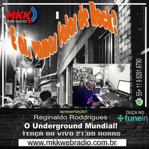Programa E Aí, Vamos Falar de Rock? 17/01/2017 - Reginaldo Roddrigues