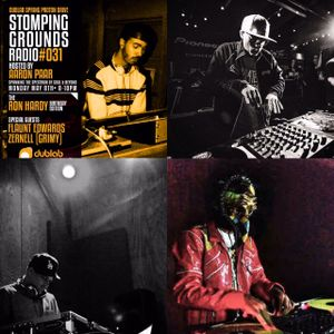 Stomping Grounds Episode 031 Ron Hardy Birthday Special W/Guests Flaunt Edwards & Zernell - 5/8/17