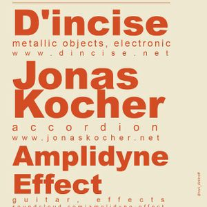 D'INCISE, JONAS KOCHER & AMPLIDYNE EFFECT LIVE @Kanal 103 (29.11.2012)