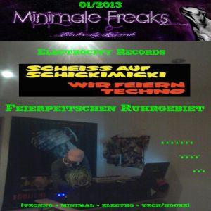 *-* 01/2013 - Minimale Freaks - Scheiss auf SchickiMicki , Wir Feiern Techno (61min - Mix)