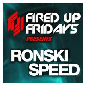 Hear Ronski Speed's August Mix specially for his 'LIVE' set at Fired Up Fridays on 16th Aug 2013!