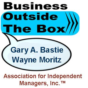 simple solutions to simple problems on Business Outside the Box with Gary Bastie and Wayne Moritz