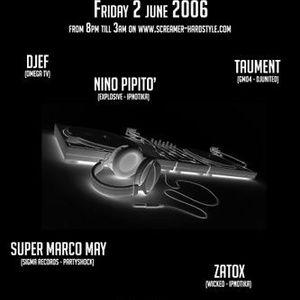 Taument @ Screamer Hardstyle Radio Italian Hardstyle Night (02-06-2006)