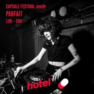 Capsule festival invite Parfait - 13/12/2016