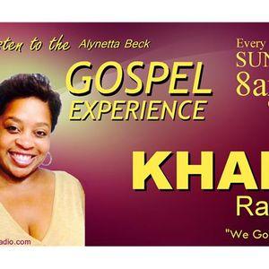 The Alynetta Beck Gospel Experience on KHAMradio.com - 91116 part 1