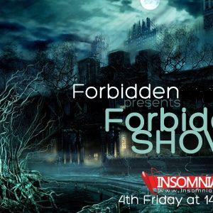 Dj org Live Forbidden Show 046 @ InsomniaFM March 2013