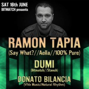 Dumi live @ Bitmatch presents Ramon Tapia, Nomad London 16.06.2012