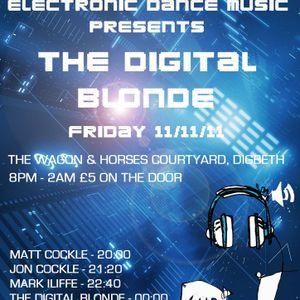 Mark Iliffe Live Entropy Birmingham Uk with Digital Blonde