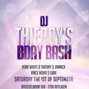 dj Thierry @ Club La Gomera - DJ THIERRY's B-day Bash 01-09-2012