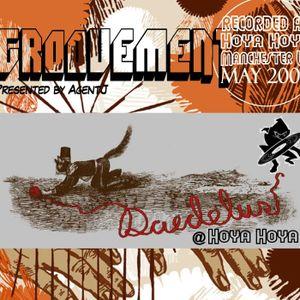 Groovement: Daedelus (Ninja Tune) - recorded live at Hoya;Hoya, Manchester