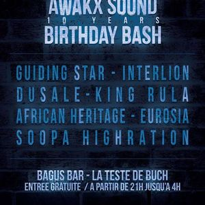 Awakx BBash @BAGUS BAR 10/06/2017  part 1