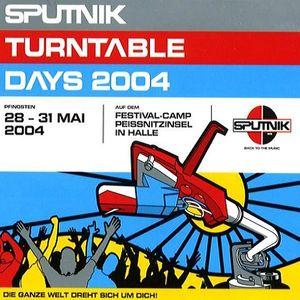 Dave Shokh @ Sputnik Turntable Days 2004 - Festival-Camp Preissnitzinsel Halle - 30.05.2004