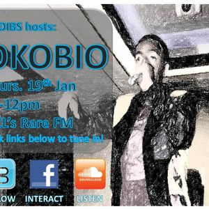60 Minutes with DJ Dibs Radio Show ft OkobiO (19th January)
