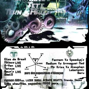 COMBAT ZONE - GAEL.G vs TETSUO - 29-11-2003