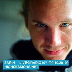 Live @ Radio 107 (FM 09.10.2010)