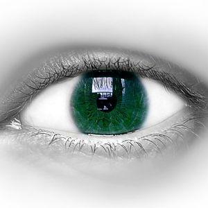 Green eye vision
