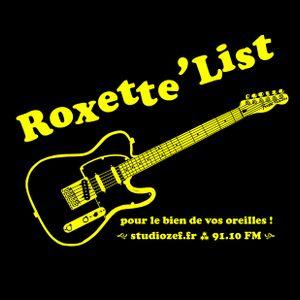 """La """"Roxett'List"""" #1 diffusée sur Studio Zef le 08/02/2013."""