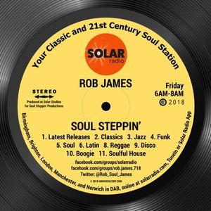 Soul Steppin  14-1-2017,  on  Delite Radio.