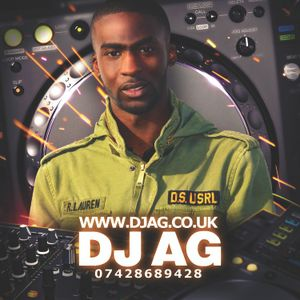 DJ AG (www.djag.co.uk) - Afrobeats Mix June 17th 2012