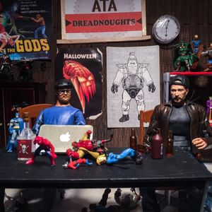 action toy art podcast 140 OH so sneaky