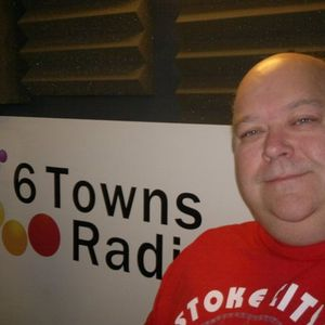 saturday breakfast with Nigel Bould on 6 towns radio and cr8 fm