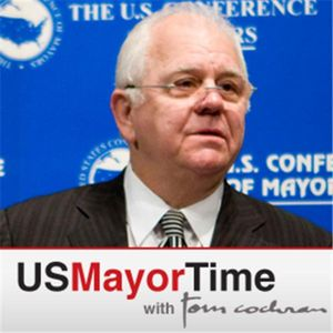 USMayorTime with Tom Cochran and Charlotte (NC) Mayor Anthony Foxx