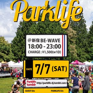Parklife radio vol.7 2015.09.01