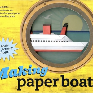 Making Paper Boats 52
