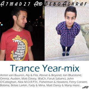 A7mad 27 & Bebo Ashraf's 2013 Trance Year-mix