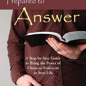 Be prepared to answer WHY you are a Christian